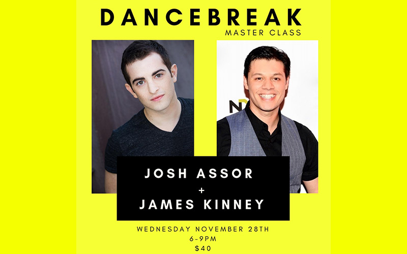 Master Class with Josh Assor and James Kinney