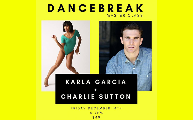 Master Class with Karla Garcia and Charlie Sutton